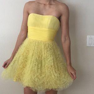 Yellow tool Sherri Hill dress